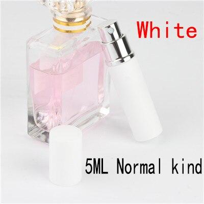 5 мл портативный мини многоразовый флакон для духов с распылителем ароматный насос пустые косметические контейнеры распылитель бутылка для путешествий Новинка - Цвет: 5ml Normalkind white