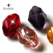 AAA Grade 100pcs/lot 11x8mm 84fa Decorative Crystal Beads Wholesale Jewelry Making Cloth Accessory Loose DIY