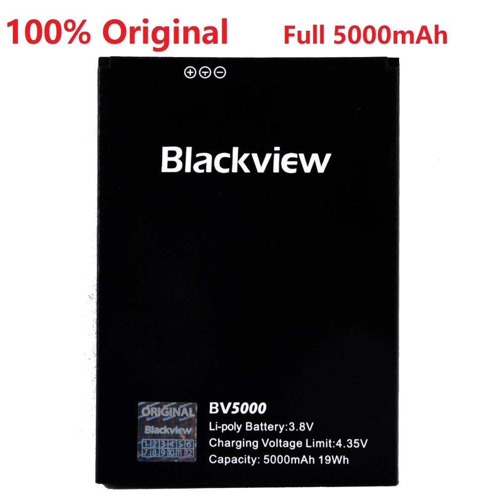 100% Original Backup Blackview BV5000 Battery Full 5000mAh For Blackview BV5000 Smart Mobile Phone + +Tracking Number+ In Stock
