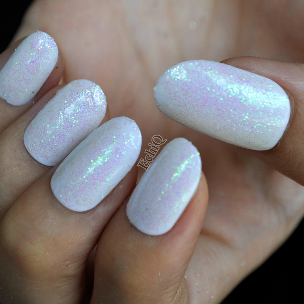 White Iridescent Nails | Best Nail Designs 2018