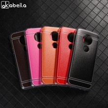 AKABEILA Telefoon Cover Voor Motorola Moto G6 Play 5.7 inch Case TPU Cases Bag Lichee Siliconen Anti-val Schelpen huid Mode Covers(China)