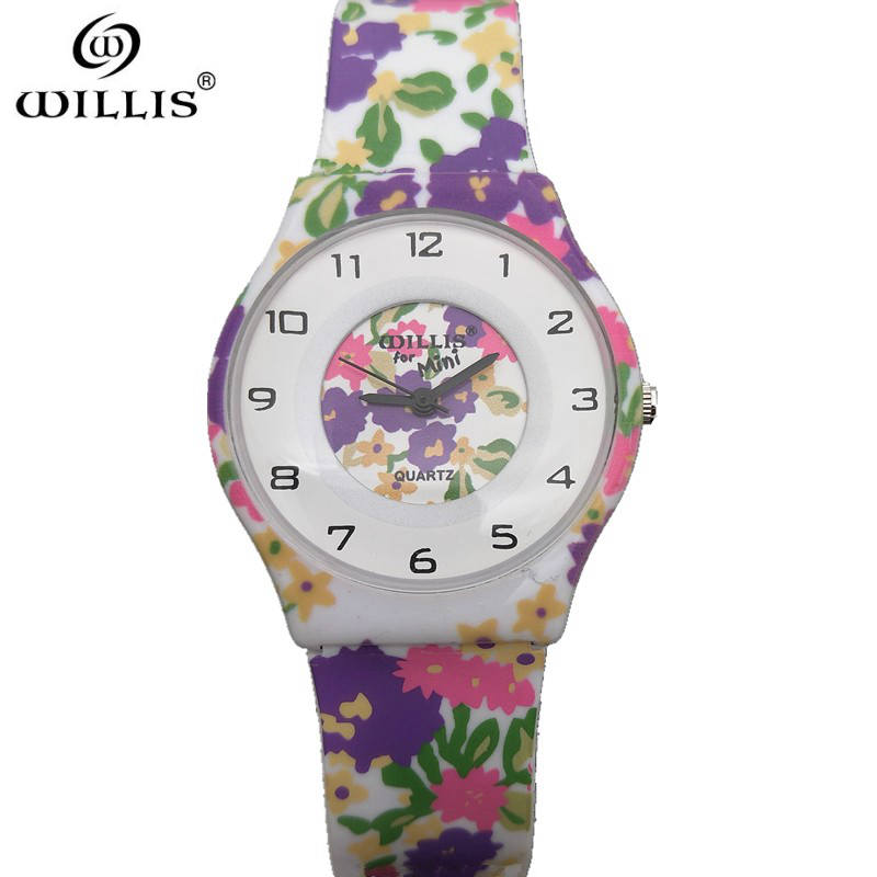 WILLIS New Brand Relogio Feminino Silicone strap Clock Female Watch Ladies Fashion Casual Watch Quartz Wrist Women Watches rigardu fashion female wrist watch lovers gift silicone band creative wristwatch women ladies quartz watch relogio feminino 25