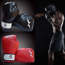 лучшая цена Men Women New style fighting Sanda karate Kickboxing punching bag kick boxing gloves women Muay Thai MMA boxing gloves E