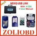 Nova chegada NEXIQ NEXIQ ferramenta de Auto Heavy Duty Truck Scanner USB Link melhor do que DPA5 na venda nexiq 125032 ligação usb DHL livre