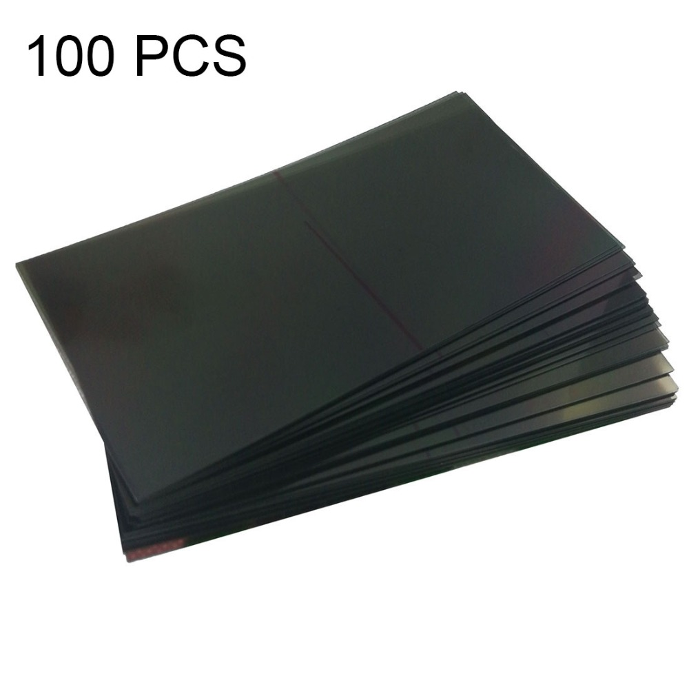 New 100 PCS LCD Filter Polarizing Films for Galaxy Note 3 / N900 Repair, replacement, accessories