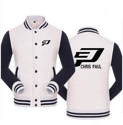 Basketball Hoodies Chris Paul LOGO Cardigan BASEBALL SWEATSHIRT COAT LEISURE HOT SELLING ITEM In Sweatshirts From Mens Clothing