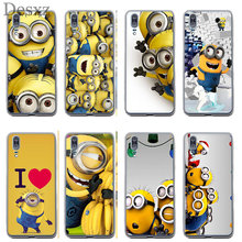Phone Case Minion Case Cover For Huawei Y5 Y6 II Y7 Y9 Prime 2017 2018 Cover(China)