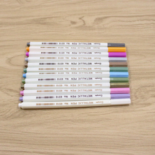12-color metal micron pen detailed mark color album black paper drawing school art supplies metal mark multi-color selection faber castell 12 18 30 color can be assembled water color drawing pen design hand drawn hook mark pen