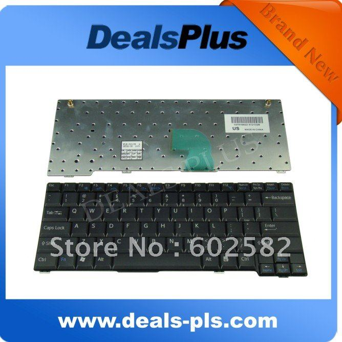 Brand New for SONY Vaio VGN-S VGN-S460 Serise US Keyboard 147916621 brand new original keyboard forsony vaio vgn nr vgn ns vgn nr ns with frame service us version black colour us layout
