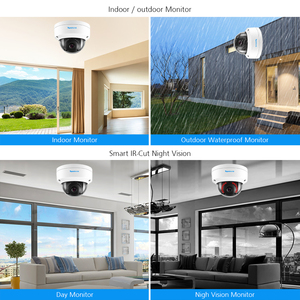 Image 5 - TOPROHOMIE H.265+ 8CH AI Face Record CCTV System POE NVR 5MP Audio Vandalproof Security POE IP Camera kit Video surveillance kit