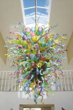 High Quality Murano Lights Blown Glass Crystal Chandelier Prisms