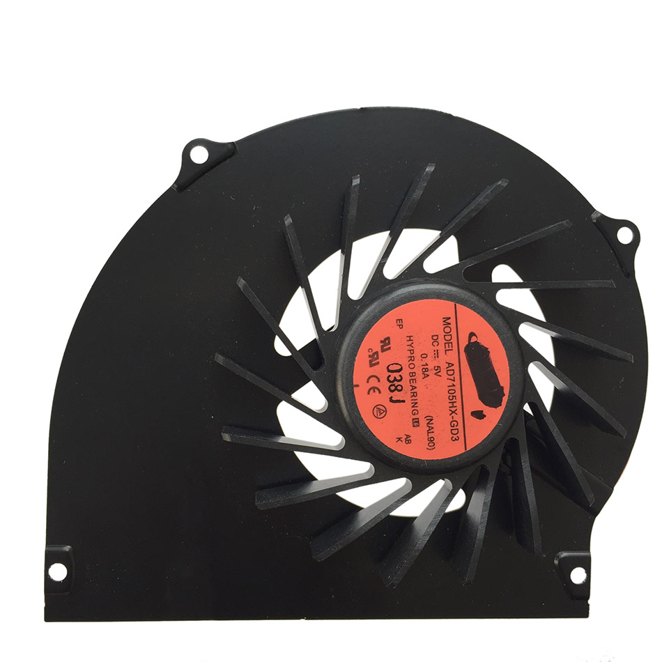 New Original Cpu Cooling Fan For ACER Aspire 4740 4740G DC Brushless Laptop Notebook Cooler Radiators Cooling Fan Free Shipping 4pin mgt8012yr w20 graphics card fan vga cooler for xfx gts250 gs 250x ydf5 gts260 video card cooling