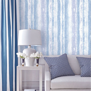 Simple Nordic Style Wallpaper Colored Vertical Stripes Bedroom Living Room Personalized TV Background  Wall Papers Home Decor
