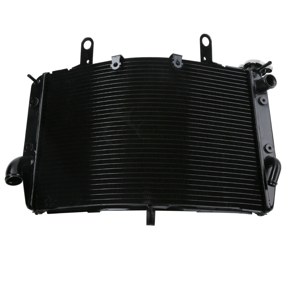 Motorcycle Motor Radiator Cooler Cooling For YAMAHA YZF R1 2004 2005 2006 04-06 05 BLACK for yamaha yzf r1 2004 2005 2006 yzf r1 radiator grille protective grille cooler guard cover