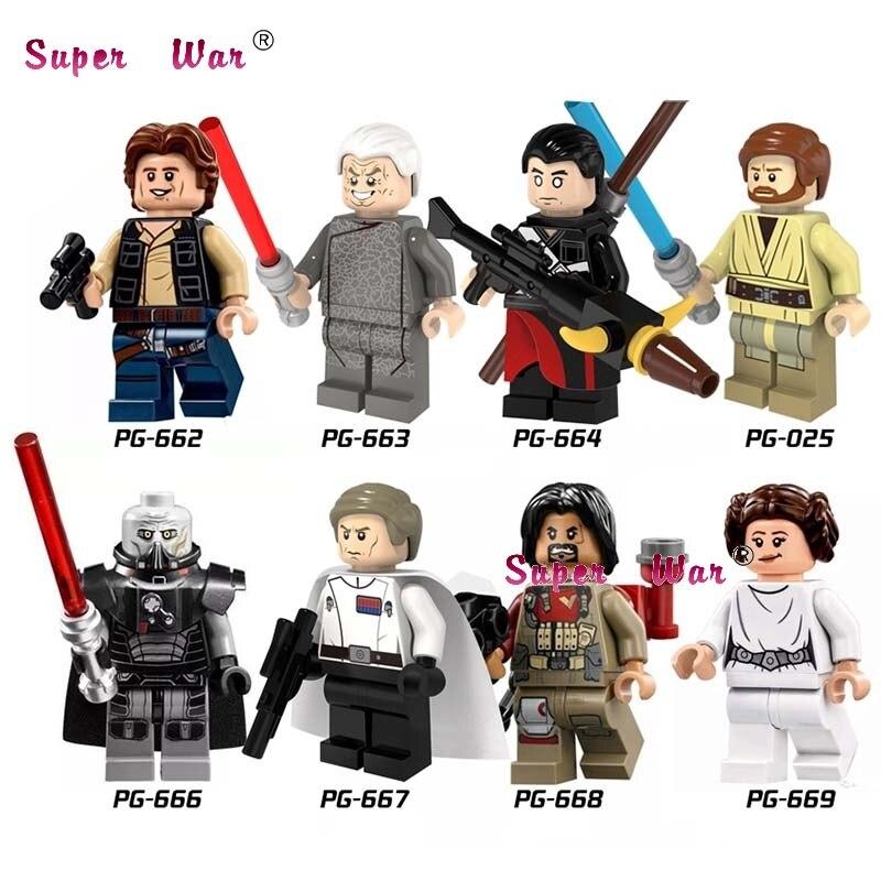 80pcs starwars superhero PG8024 Rogue One Obi-Wan Darth Malgus building blocks bricks friends for games kid children toys