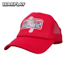 Forrest Gump Mesh Baseball Cap Trucker Hat Bubba Snapback Summer Daddy Adjustable Sport Hip Hop Party Costume Accessories