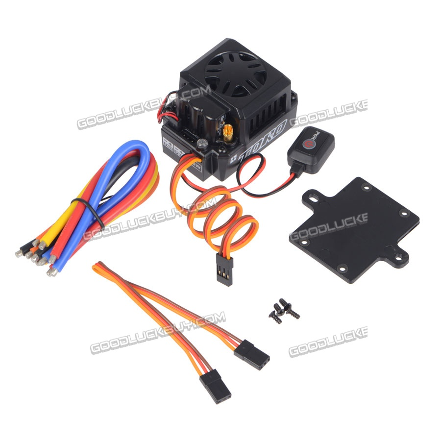 SKYRC Toro TS 150A ESC Brushless Sensored Motor ESC for RC Cars Truck Black цены онлайн