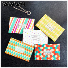 50pcs/Lot Silver Polish Cloth Customize Pattern Anti Tarnish  Wipe Maintain Jewelry Tools Special Polishing Clean Jewelry
