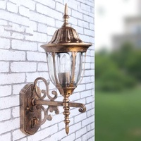 Outdoor Lighting Wall Lamps Balcony LED Wall Sconce Waterproof Garden Wall Light Fixtures Aluminum Glass Porch Lights Lampara