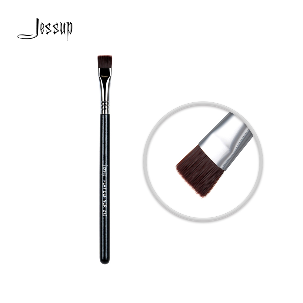 Jessup High Quality Material Professional Face brush Makeup brushes brush Make up Flat Definer Cosmetic tools Beauty 212
