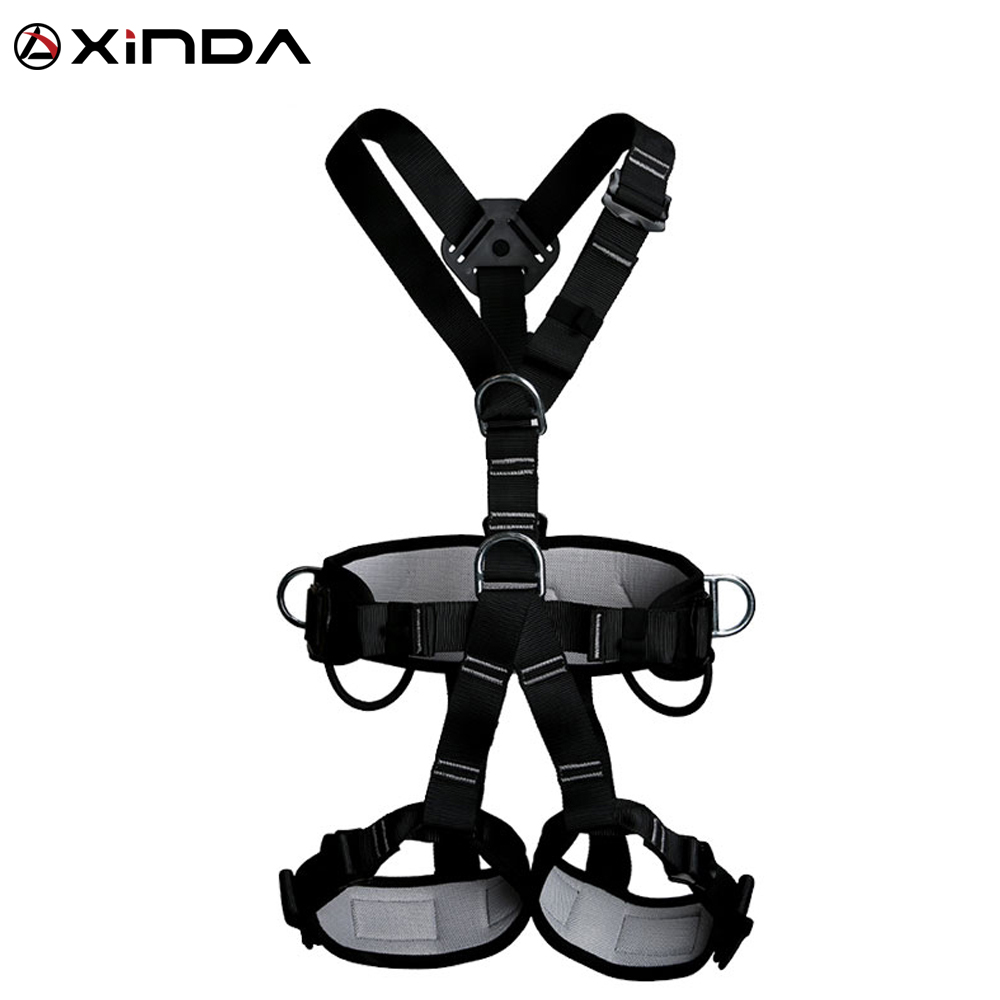 XINDA Professional Harnesses Rock Climbing High altitude protection Full Body Safety Belt Anti Fall Protective Gear professional rock climbing harnesses full body safety belt anti fall removable gear altitude protection equipment