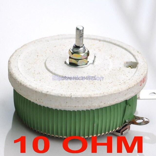 200w 10 ohm high power wirewound potentiometer, rheostat, variable200w 10 ohm high power wirewound potentiometer, rheostat, variable resistor, 200 watts