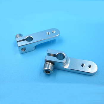 2PCS Gasoline Throttle Steering Arm CNC Aluminum 4mm 4.76mm Servo Arms for RC Jet Boats 644/1048 Carburetor Spare Parts cnc alloy double arms steering kits for 1 5 losi 5ive t rovan lt king motor truck parts