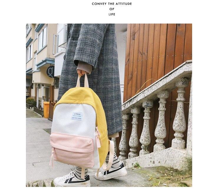 HTB1BgeJaAH0gK0jSZPiq6yvapXa8 2019 New Fashion Women Backpack Leisure Shoulder School Bag For Teenage Girl Bagpack Rucksack Knapsack Backpack For Women