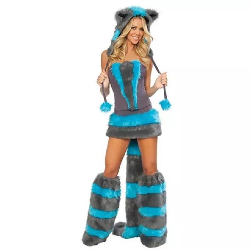 christmas wolf cosplay uniforms cat girl animal costume halloween costumes for women 2017china - Womens Wolf Halloween Costume