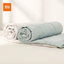 Originele Xiaomi 8H Quilt Airconditioning Quilt Wasbare Katoenen Antibacteriële Ademend Katoen Bed Deken Voor Baby