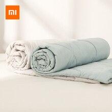 Xiaomi لحاف قطن أصلي 8H ، قابل للغسل ، مسامي ، مضاد للبكتيريا ، لتكييف الهواء ، لسرير الأطفال