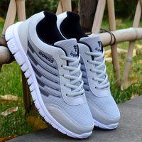 Мужские кроссовки 2019 Новое поступление Модные дышащие ультралегкие мужские летние кроссовки мужские вулканизированные туфли