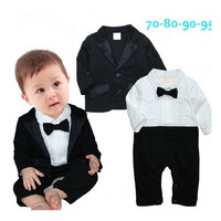 Ropa Para Bebes 2015 New Clothing For Babies Tie Gentleman Newborn Baby Clothes Suit 6M 3T