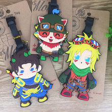 the United States game character modelling luggage tag bags around identifying name badge Tags hang act the role ofing(China)