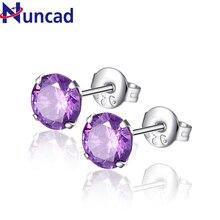 2017 Round Stud Earrings Brand Jewelry Luxury Elegant and Charming Austrian Crystal Earrings For Women