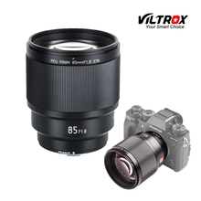 VILTROX 85mm f/1,8 STM автофокусом объектив с фиксированным фокусным расстоянием F1.8 объектив для Камера Fujifilm X-mount X-T3 X-H1 X20 X-T30 X-T20 X-T100 X-Pro2