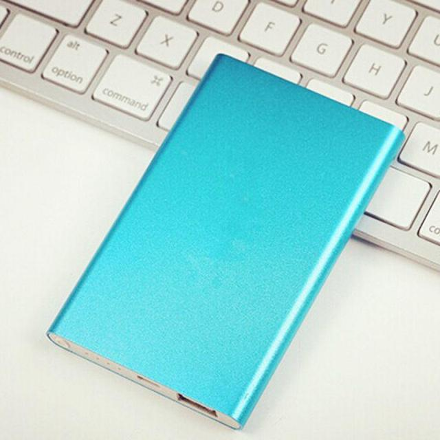 Battery Charger 10000mAh Dual USB Fast Charge Power Bank High Capacity Portable External Battery Bank Universal Powerbank