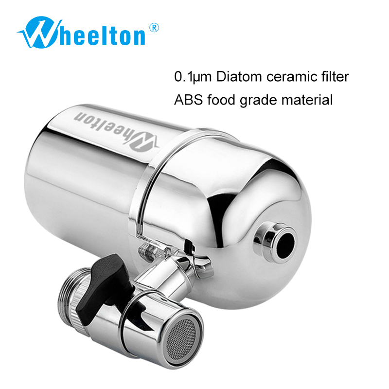 Image 2 - Wheelton Kitchen Water Filter Faucet(F 102 3E) Water Ionier Remove Water Contaminants Alkaline Water Ceramic Cartridge Purifier-in Water Filters from Home Appliances