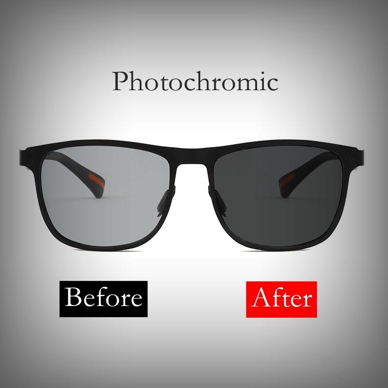 2018 Photochromic Polarized Sunglasses classic design Day Night Men's Sunglasses for Driving Fishing UV400 Sun Glasses for men 1