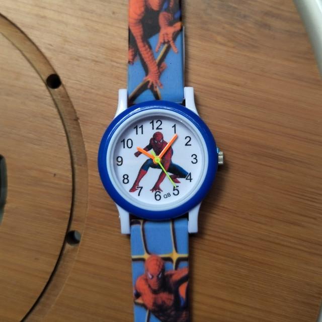 Fashion Children Watches for Boys girls Child Gift Spiderman Watch Kids Waterpro