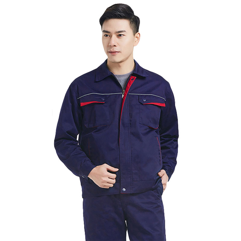 Men's Workwear Jacket Unisex Work Clothes Long-sleeved Wear-resistant Tooling Auto Repair Working Jackets Factory Uniforms
