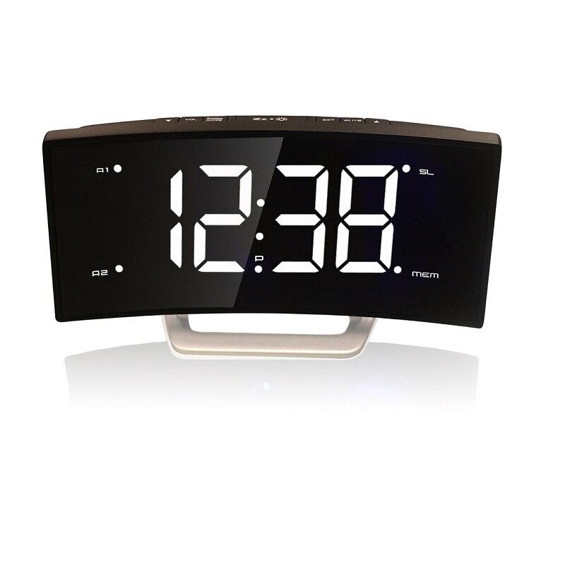 Настольные часы с радио купить онлайн в интернет магазине dns.