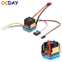 OCDAY 2 3 Lipo 6 9NiMH 60A Dual Mode Brush Speed Controller ESC Regulator With Cooling