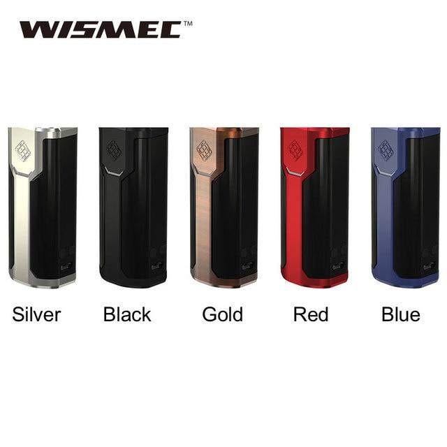 Оригинальный wismec извилистые P80 TC mod питание от аккумулятора 18650 извилистые P80 поле mod 80 Вт VW/обходной электронным сигареты VAPE испаритель