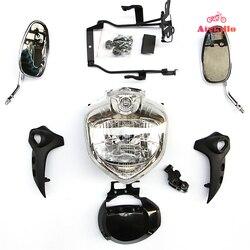Zestaw reflektorów Head Light zgromadzenie dla 2004-2006 YAMAHA FZ6S FZ6N FAZER 04 05 06 motocykl