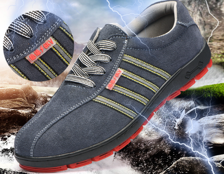 Summer breathable men's electrician shoes safety shoes deodorant comfortable breathable antistatic work shoes