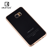 Luxury 9H Hardness Tempered Glass Back Cover Premium Aluminum Metal Frame Cell Phone Case For Samsung