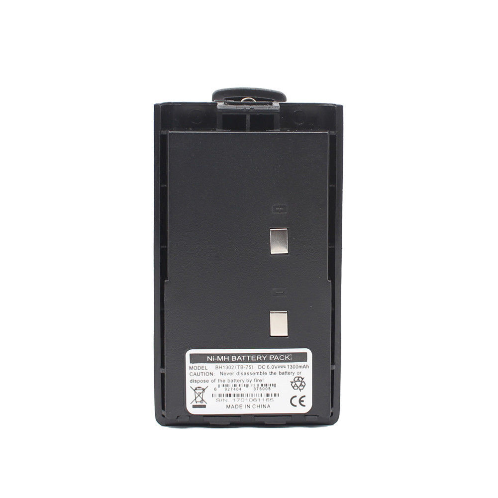 BH1302 TB-75 BH1104 1300mAh NI-MH Battery For TC500 TC-500 Two Way Radio