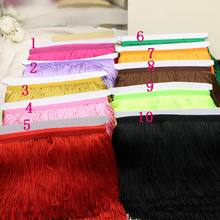 5 yards 16 cm wide lot polyester fringed belt yarn Ribbon sewing clothes DIY Latin curtain