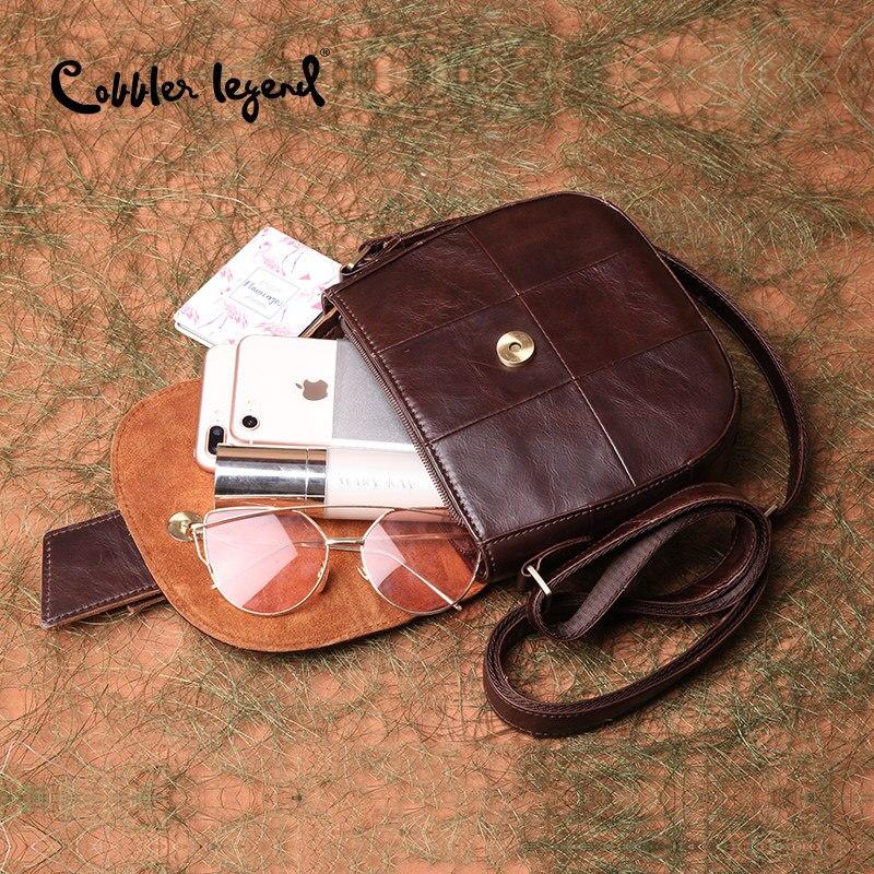 Image 5 - Cobbler 전설 저렴한 여성 가방 핸드백 여성 정품 가죽 디자이너 가방 여성 유명 브랜드 2019 호보 가방 여성용-에서숄더 백부터 수화물 & 가방 의